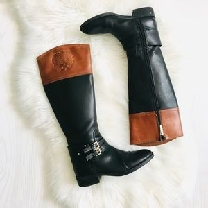 Vince Cumato Pryna Riding Boots Size 5.5